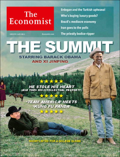 Oh NO! Not the Economist too!
